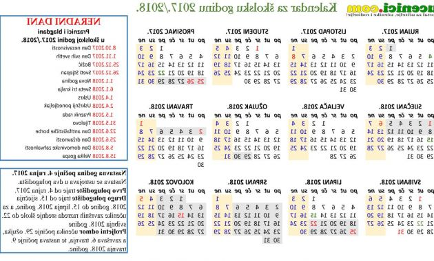 2017 and 2018 Calendar Printable D0dg Kalendar Travanj 2018 7