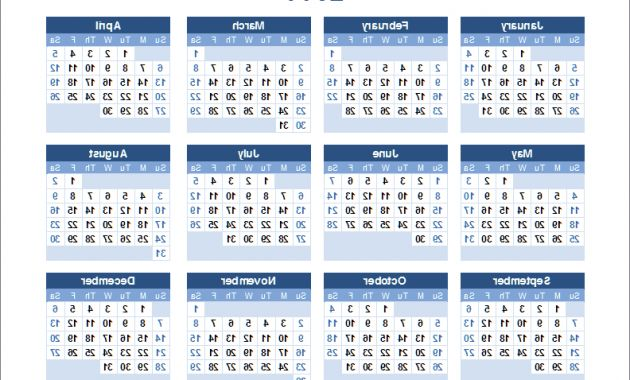 2018 Yearly Calendar Template J7do Printable Yearly Calendar Landscape