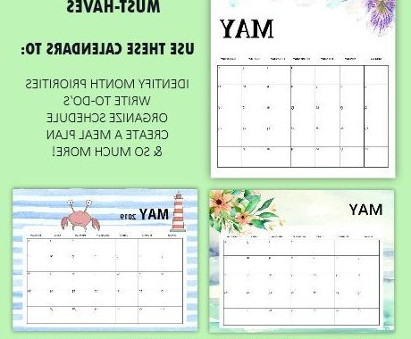 Calendars for June Zwdg Free Printable May 2019 Calendar Planners 15 Awesome