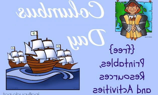 Columbus Day Clipart Q5df Free Columbus Day Printables and Resources In All You Do