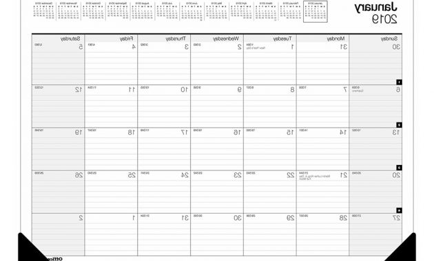 Federal Government Fiscal Year 2020 Calendar D0dg Buy Calendars & Planners Fice Depot & Ficemax