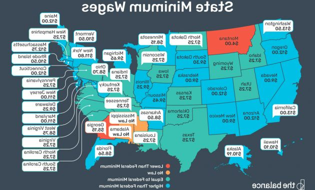 Federal Government Fiscal Year 2020 Calendar J7do 2020 Federal and State Minimum Wage Rates