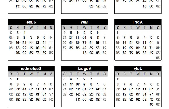 Monthly Printable Calendar 2016 Nkde Download A Free 2017 Calendar Portrait orientation From