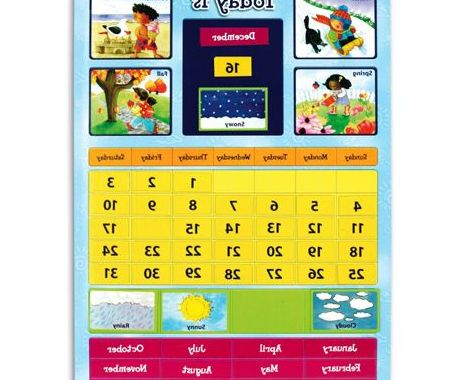 My Calander Maker S5d8 Magnetic Learning Calendar Preschool