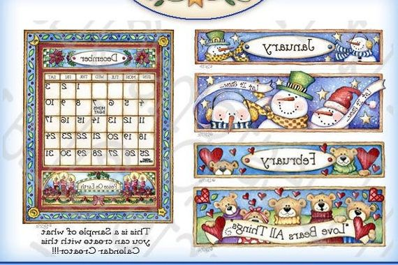 My Calander Maker Y7du Calendar Creator Calendar Digital Art Seasonal Clipart Calendar Printable Scrapbooking Papercrafts Laurie Furnell Digital Art