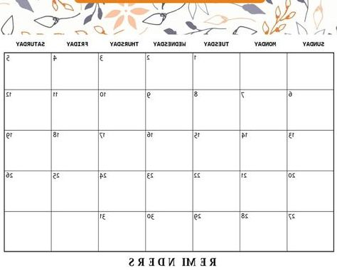 October Printable Calendar Q0d4 Cute October 2019 Calendar Planner