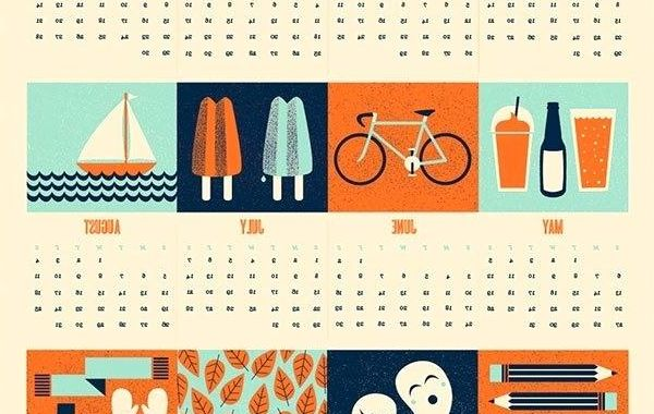 One Page Calendars 2016 H9d9 Cool Calendars 2017