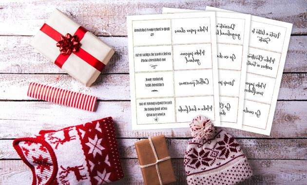 Printable Advent Calendar 9ddf Family Holiday Advent Calendar Activity Cards