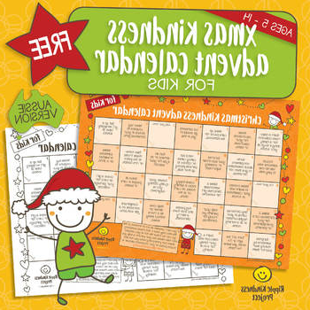Printable Advent Calendar Dddy Free Christmas Kindness Advent Calendar Printable for