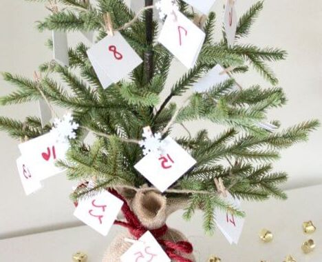 Printable Advent Calendar Fmdf 25 Days Of Christmas Activities