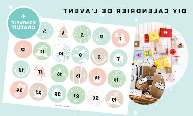 Printable Advent Calendar Tldn Advent Calendar Ideas Printable Numbers • Christmas • Ona