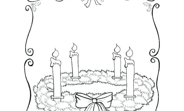 Printable Advent Calendar Zwdg Advent Coloring Sheet Free – Highfiveholidays