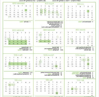 Printable Calendar 2016-2017 Y7du Sample Daily Calendar Printable 7 Examples In Word Pdf