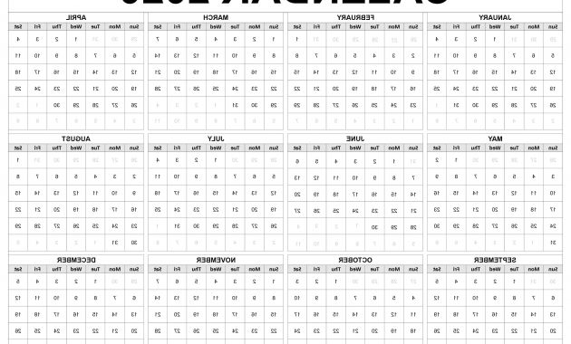 Printable Federal Government Fiscal Year 2020 Calendar Jxdu Printable 2020 Calendar Template Task Management Guide