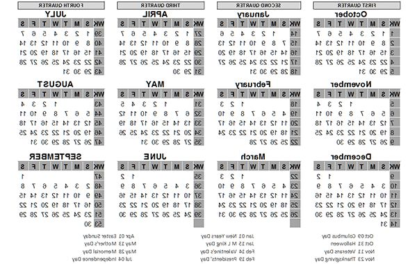 Printable Federal Government Fiscal Year 2020 Calendar O2d5 Us Calandar Kobeynnagraephoto