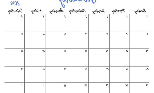 Printable Monthly Calendar 2017 H9d9 Large Monthly Calendar – Larchlodge