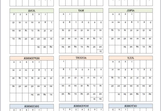Printable Yearly Calendar 2017 E6d5 Free Printable 2015 Year at A Glance Calendar From
