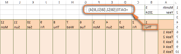 Weekly Number Calendar 2016 Irdz Excel Conditional formatting for Dates & Time formula