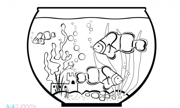 Www Printfree Com E6d5 Coloring Pages Best Coloring Kissing Fish Tank Bowl Cool