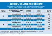 14 school days and 14 holidays for next year – Nation | The Star Online – Calendar For Year 2019 Malaysia