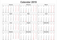 18 Calendar Holidays Printable 18 Of 18 Yearly Calendar Template ..