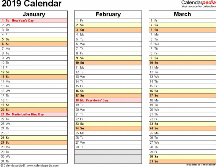 Permalink to 19 Things You Need To Know About 19 Calendar Year To A Page Today