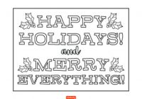 19 Christmas Coloring Pages for Kids | Shutterfly – Christmas Coloring Pages Merry Christmas
