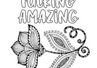 20 F*cks to Give and Color: Swear Word Coloring Book for Adults – Myria – what is a swear word coloring book