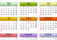 2019 Calendar Landscape Year At A Glance In Color With 2016 Download 16 Free Printable Excel Templates Xlsx