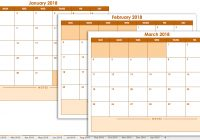 2019 Full Year Calendar Template Smartsheet With Free Blank Templates Printable To