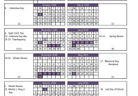 2019 School Year Calendar Nyc With 2018 19 Student Monroe Woodbury Central District