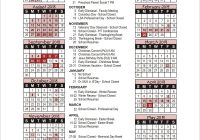 2019 School Year Calendar Nyc With The Chapel