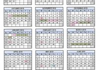 2019 School Year Calendar With 2018 19 Adelanto High