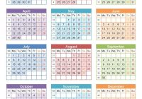 2019 Year Calendar Excel With Free Editable Turkish PDF Word August 2018