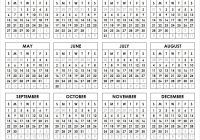 2019 Year To Page Calendar With Free Printable One Download Templates December