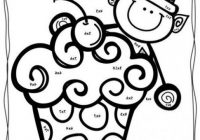 20nd Grade Christmas Coloring Pages – Free Christmas Math Worksheets ..