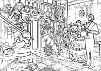 A Christmas Carol Printable Coloring Pages With Pin By Day On Pinterest