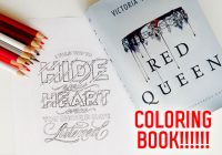 A Red Queen Coloring Book is Officially Happening – red queen coloring book