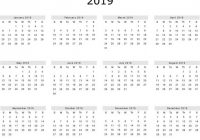 A20 Free Yearly Printable 20 Calendar Excel Template | November ..