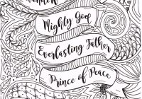 Adult Christmas Coloring Page Christian by FourthAvePenandInk ..