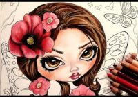 Adult Coloring Book: Jasmine Becket-Griffith Color Book WIP – YouTube – jasmine becket griffith coloring book