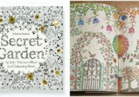 Adult Coloring Books – Johanna Basford Secret Garden – the secret garden coloring book
