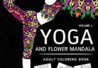 Adult Coloring Books: The Yoga Coloring Book For Adults: Adult ..