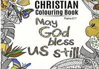 Adult Colouring Book: Christian Colouring Book: Inspirational Bible ..