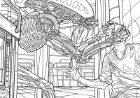 Alien Coloring Book Pages Available for Download – AvPGalaxy – xenomorph coloring book