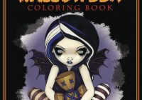 Amazon.com: Jasmine Becket-Griffith Halloween Coloring Book: A Spine ..