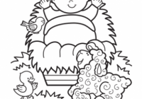 Baby Jesus Coloring Pages – Best Coloring Pages For Kids – Christmas Coloring Baby Jesus