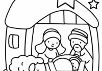 Baby Jesus Coloring Pages | Holiday Coloring Pages | Nativity ..