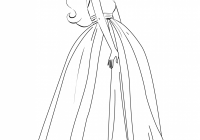 Barbie coloring pages for girls free printable | Barbie | Pinterest ..
