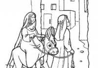 Bible Christmas Story Coloring Pages 15 Religious Christmas Coloring ..